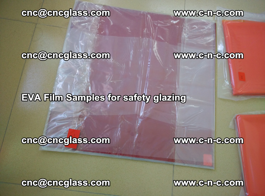 Ethylene Vinyl Acetate EVA FILM INTERLAYER samples for laminated safety glass (31)