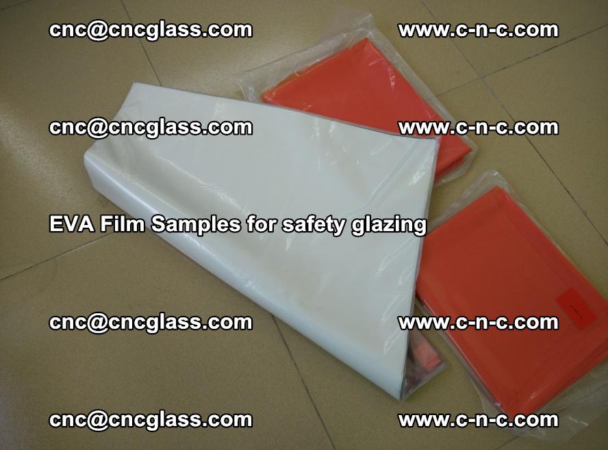 Ethylene Vinyl Acetate EVA FILM INTERLAYER samples for laminated safety glass (34)