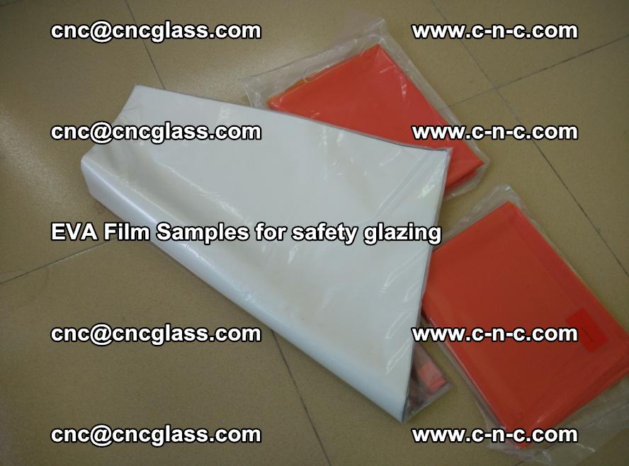Ethylene Vinyl Acetate EVA FILM INTERLAYER samples for laminated safety glass (35)