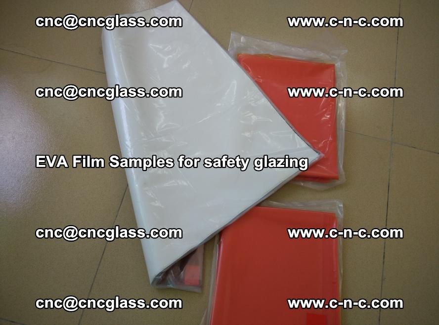 Ethylene Vinyl Acetate EVA FILM INTERLAYER samples for laminated safety glass (39)