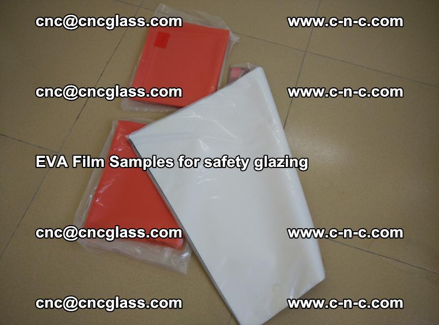 Ethylene Vinyl Acetate EVA FILM INTERLAYER samples for laminated safety glass (44)