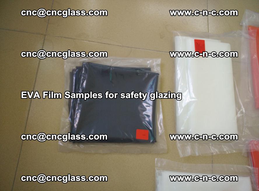 Ethylene Vinyl Acetate EVA FILM INTERLAYER samples for laminated safety glass (64)