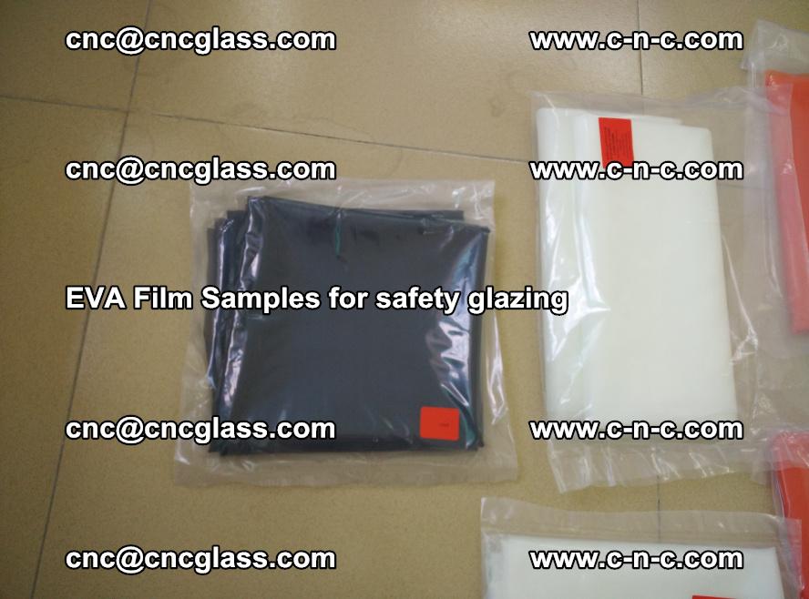 Ethylene Vinyl Acetate EVA FILM INTERLAYER samples for laminated safety glass (65)