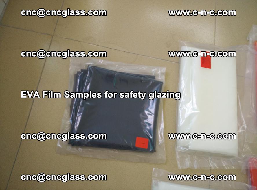 Ethylene Vinyl Acetate EVA FILM INTERLAYER samples for laminated safety glass (68)