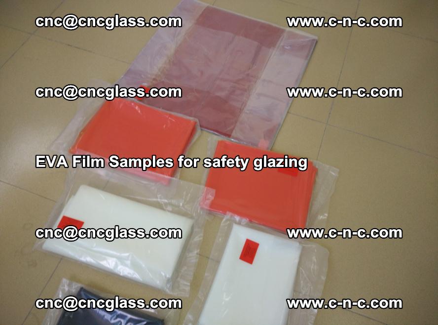 Ethylene Vinyl Acetate EVA FILM INTERLAYER samples for laminated safety glass (80)