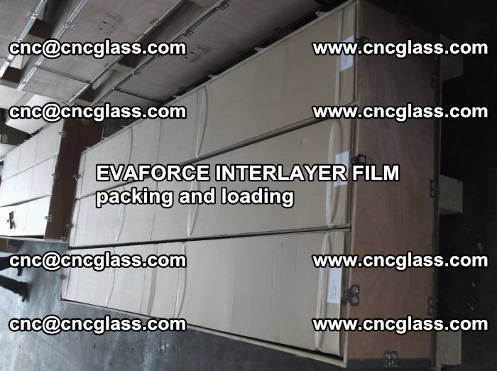 EVAFORCE INTERLAYER FILM for laminated glass safety glazing (20)
