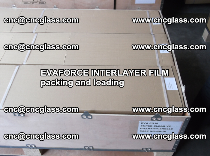 EVAFORCE INTERLAYER FILM for laminated glass safety glazing (25)