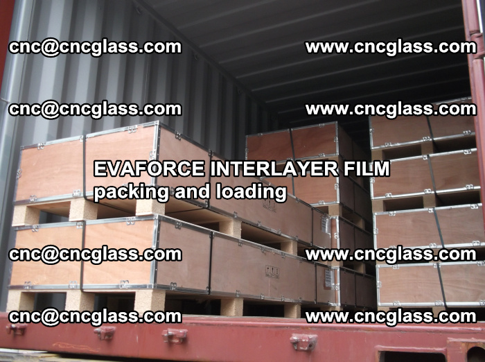 EVAFORCE INTERLAYER FILM for laminated glass safety glazing (52)