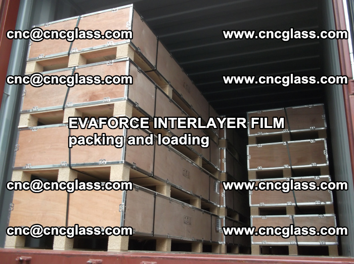 EVAFORCE INTERLAYER FILM for laminated glass safety glazing (55)