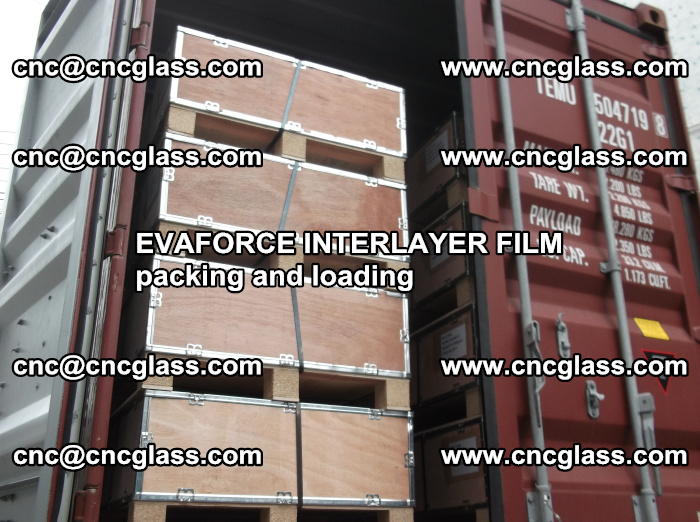 EVAFORCE INTERLAYER FILM for laminated glass safety glazing (60)
