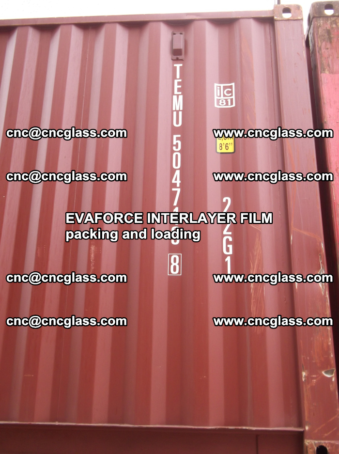 EVAFORCE INTERLAYER FILM for laminated glass safety glazing (66)