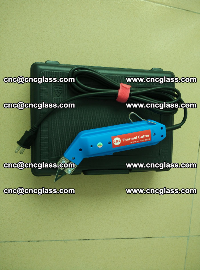 Thermal Knife trimmer for laminated glass edges cleaning (11)