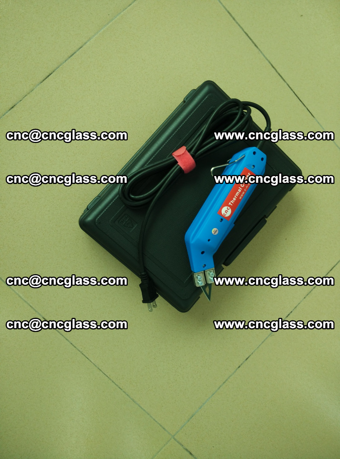 Thermal Knife trimmer for laminated glass edges cleaning (14)