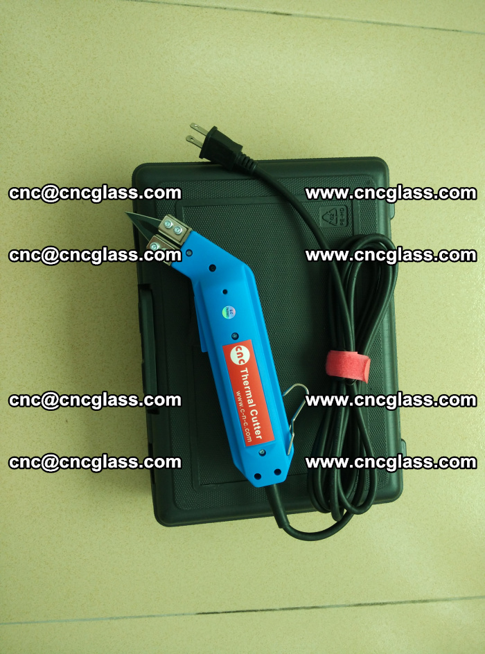 Thermal Knife trimmer for laminated glass edges cleaning (2)