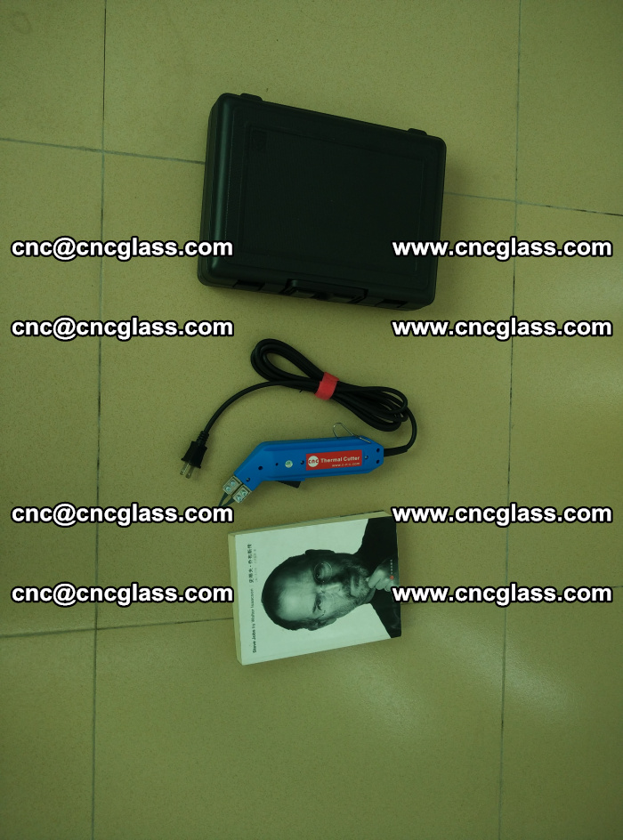 Thermal Knife trimmer for laminated glass edges cleaning (33)