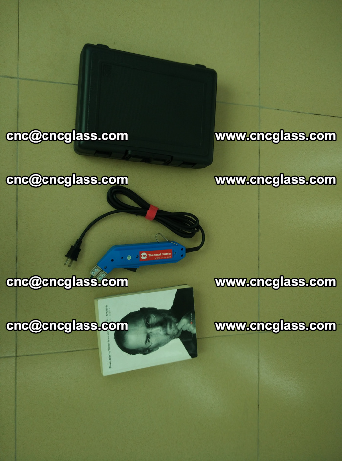 Thermal Knife trimmer for laminated glass edges cleaning (44)