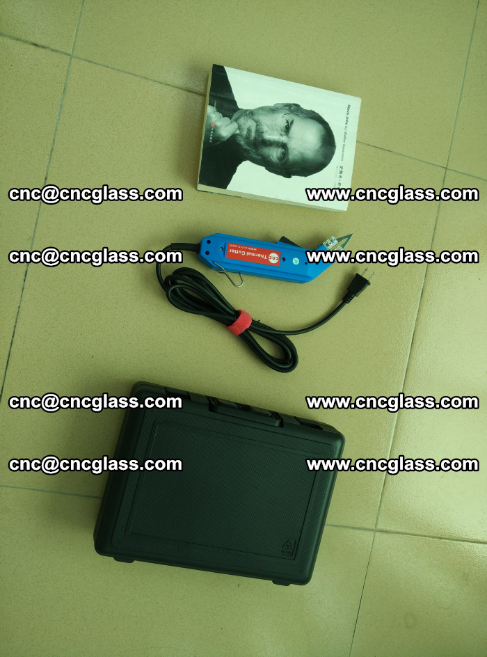 Thermal Knife trimmer for laminated glass edges cleaning (59)