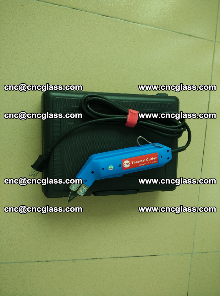 Thermal Knife trimmer for laminated glass edges cleaning (6)