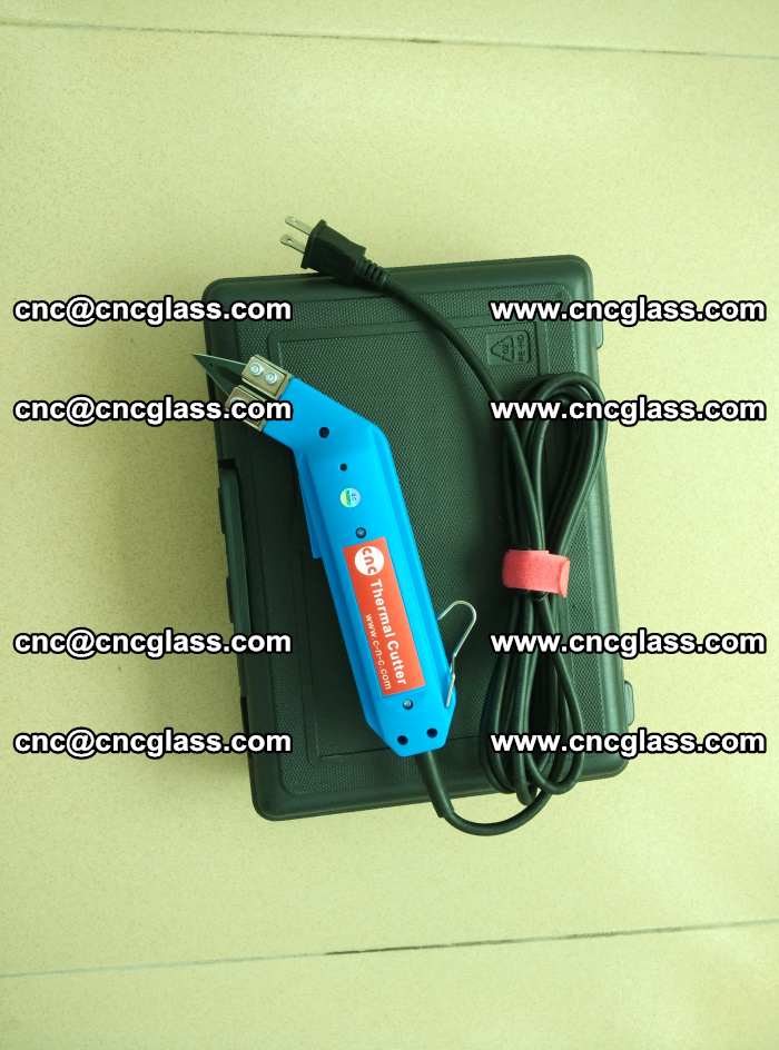 Thermal Knife trimmer for laminated glass edges cleaning (60)
