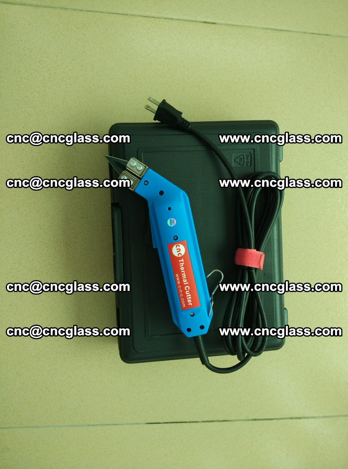 Thermal Knife trimmer for laminated glass edges cleaning (63)