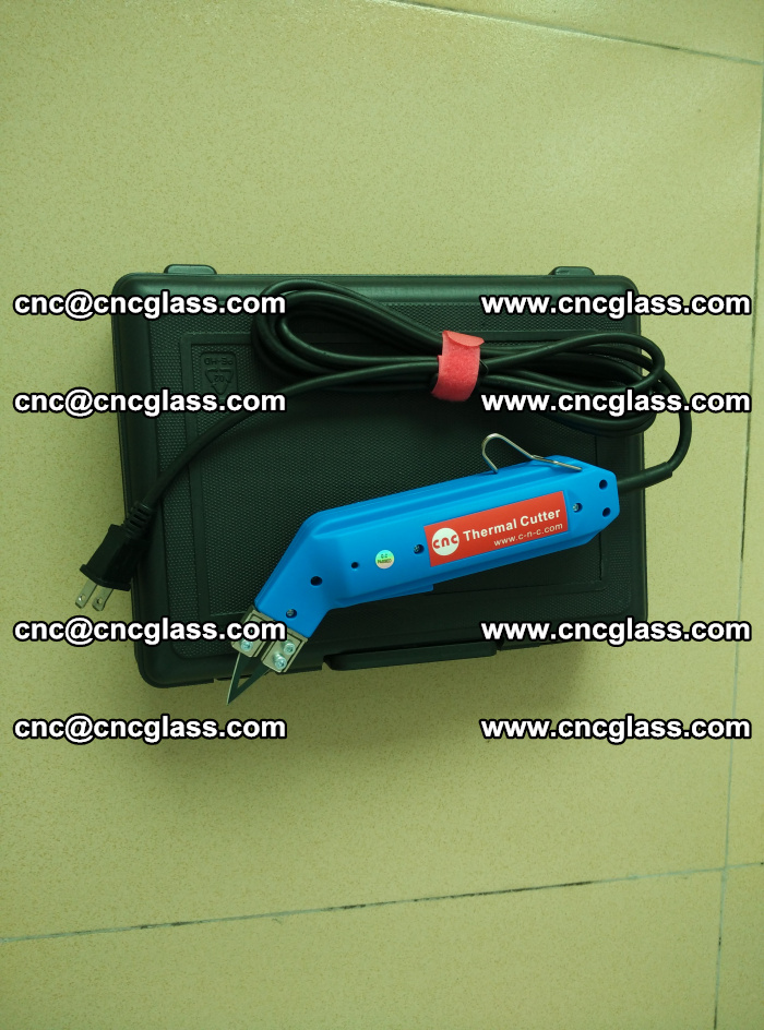 Thermal Knife trimmer for laminated glass edges cleaning (9)