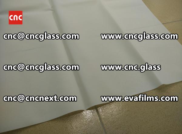 Laminated safety glass EVA-based densely cross-linked interlayer (21)