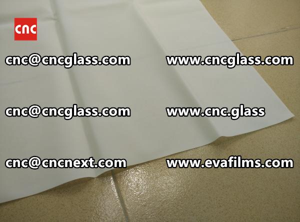Laminated safety glass EVA-based densely cross-linked interlayer (23)