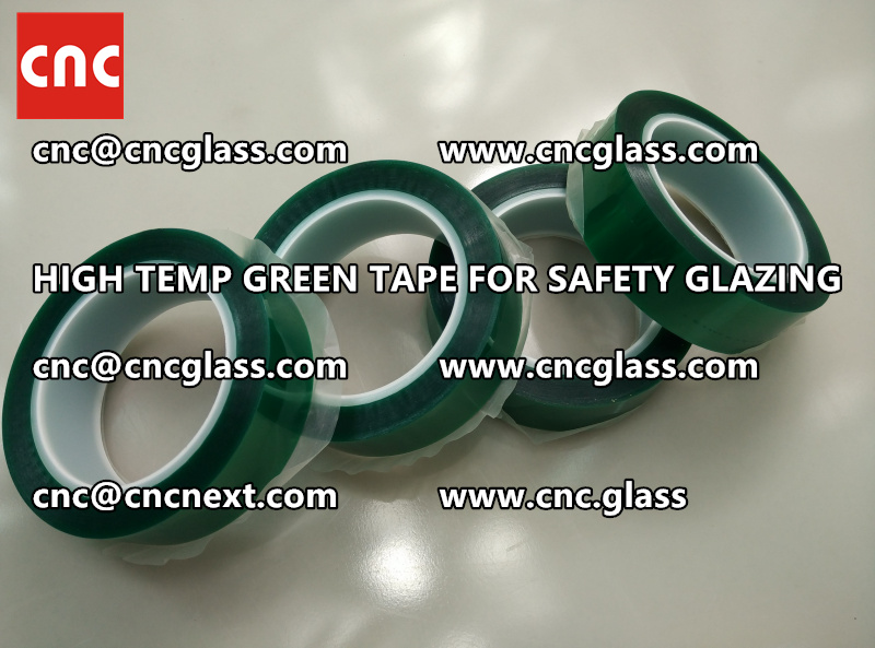 GLASS GREEN TAPE FOR EVA LAMINATION (1)