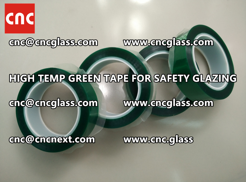 GLASS GREEN TAPE FOR EVA LAMINATION (2)