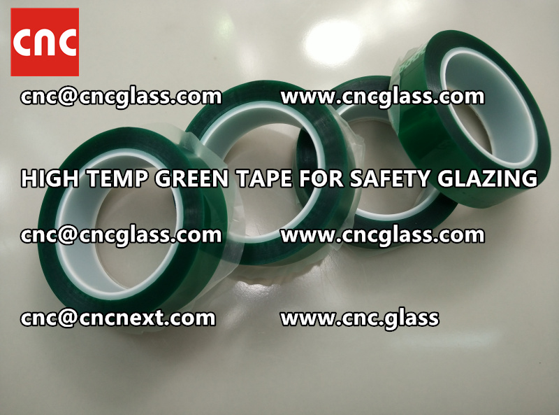 GLASS GREEN TAPE FOR EVA LAMINATION (5)