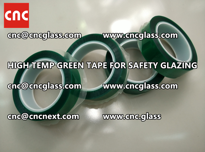 GLASS GREEN TAPE FOR EVA LAMINATION (6)