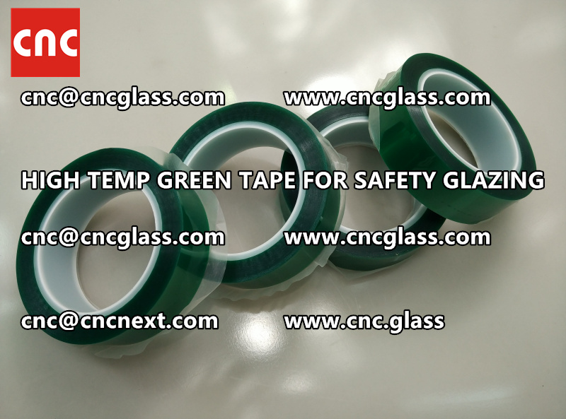 GLASS GREEN TAPE FOR EVA LAMINATION (7)