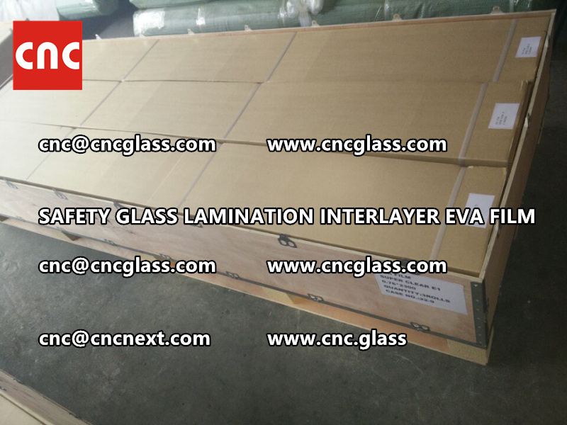 SAFETY GLASS LAMINATION INTERLAYER EVA FILM PACKING LOADING (19)