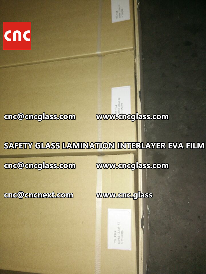 SAFETY GLASS LAMINATION INTERLAYER EVA FILM PACKING LOADING (26)