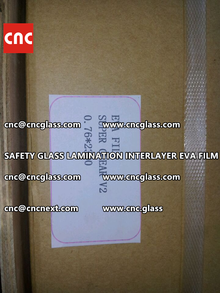 SAFETY GLASS LAMINATION INTERLAYER EVA FILM PACKING LOADING (4)