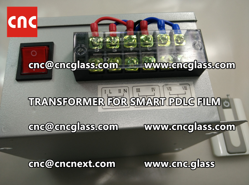 SMART GLASS FILM transformer power supply (4)