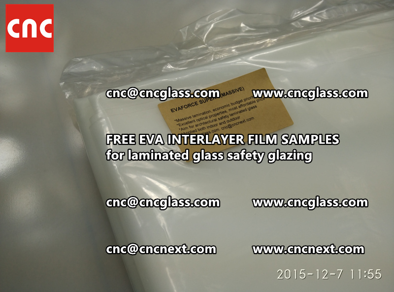 FREE EVA GLASS INTERLAYER samples for laminated glass (15)