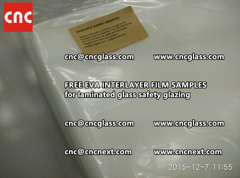 FREE EVA GLASS INTERLAYER samples for laminated glass (22)