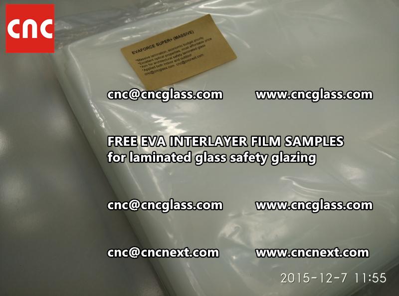 FREE EVA GLASS INTERLAYER samples for laminated glass (24)