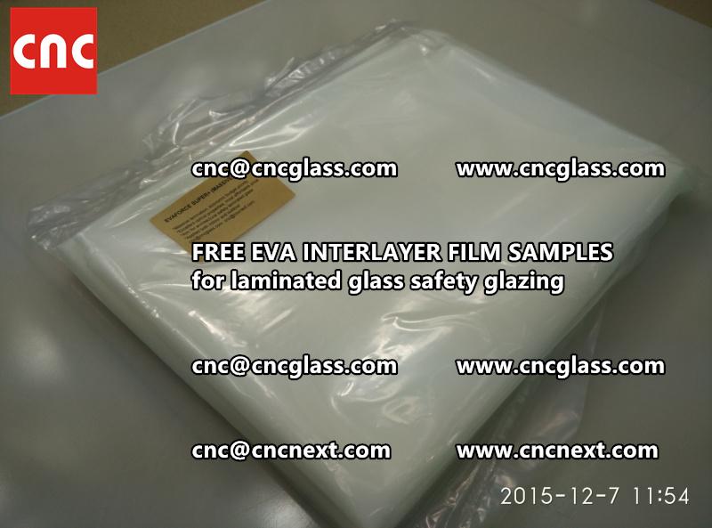 FREE EVA GLASS INTERLAYER samples for laminated glass (4)
