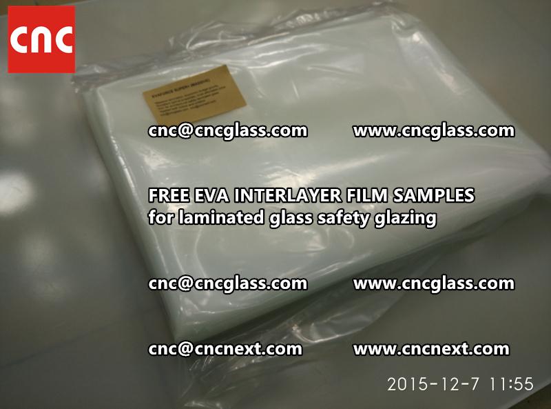 FREE EVA GLASS INTERLAYER samples for laminated glass (8)