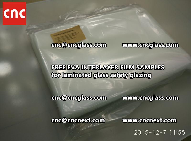 FREE EVA GLASS INTERLAYER samples for laminated glass (9)
