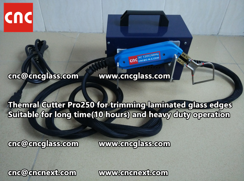 HEATING KNIFE HOT KNIFE THERMAL CUTTER for cleaning laminated glass edges (2)