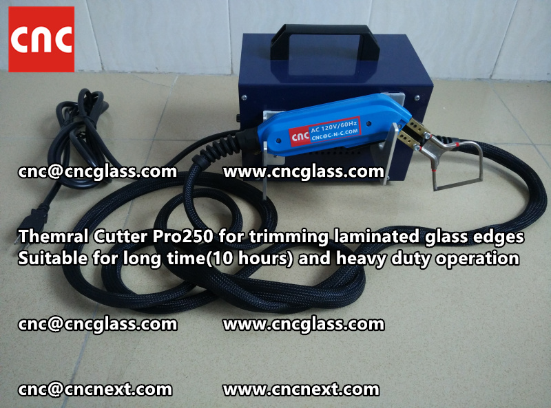 HEATING KNIFE HOT KNIFE THERMAL CUTTER for cleaning laminated glass edges (3)