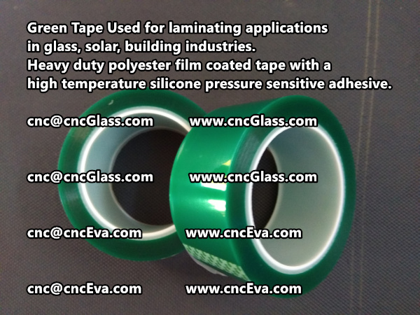 Green Tape is designed for laminating applications in glass laminate, solar encapsulation, automotive, aerospace, and electrical Mechanical industries (2)