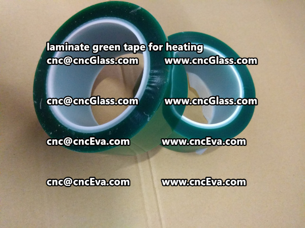 green tape PET TAPE for solar BIPV laminate (10)