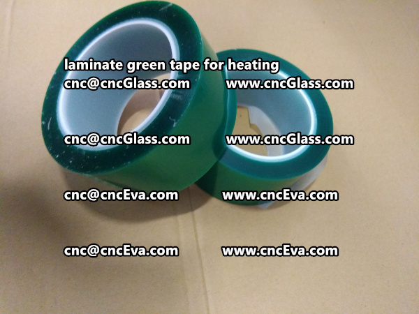 green tape PET TAPE for solar BIPV laminate (14)