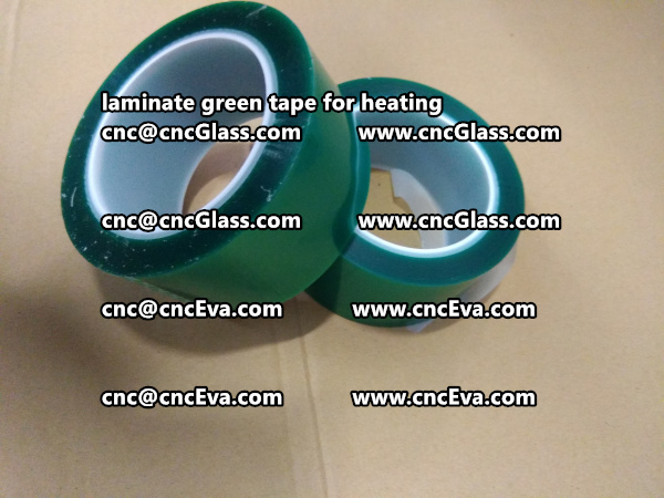 green tape PET TAPE for solar BIPV laminate (15)