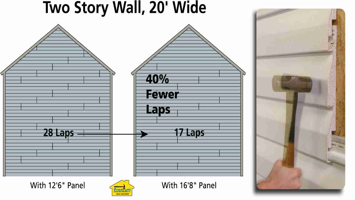 Vinyl Siding Long Length