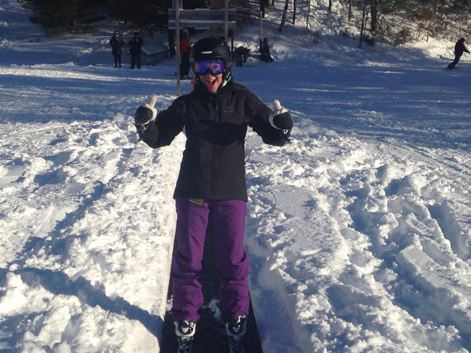 First Day Ever Skiing